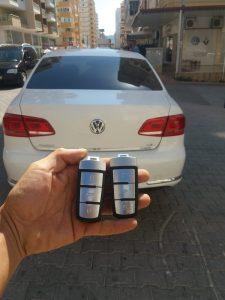 Volkswagen araba anahtarı