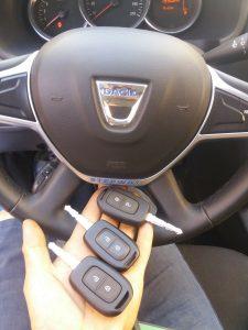 Dacia Sandero Kayıp Anahtar
