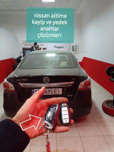 Alanya Nissan Kayıp Yedek Anahtar