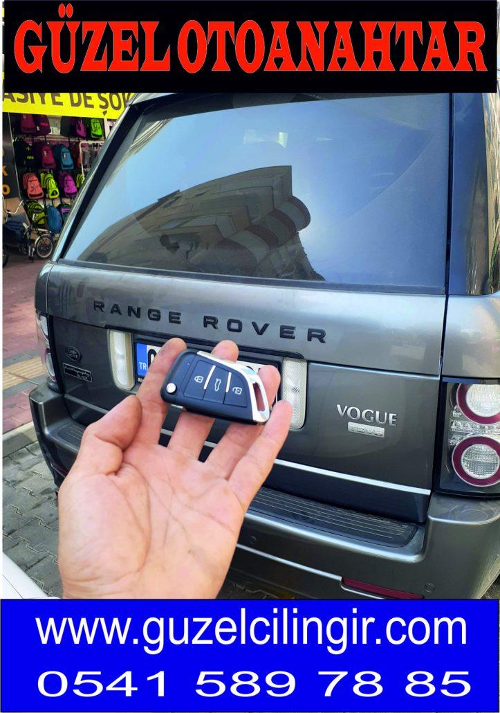Land Rover Kayıp Ve Yedek Anahtar
