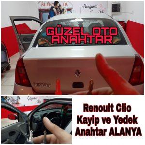 Alanya Renault Clio Kayıp Ve Yedek Anahtar Yapımı