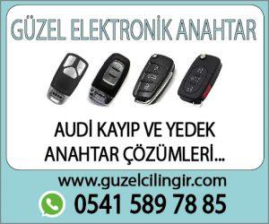 Alanya Audi Kayıp ve Yedek Anahtar