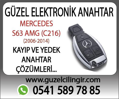 Alanya Mercedes C216 S63 Yedek Anahtar
