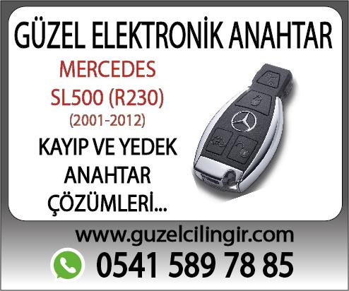 Alanya Mercedes R230 SL500 Yedek Anahtar