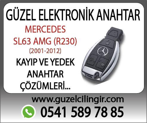 Alanya Mercedes R230 SL63 Yedek Anahtar