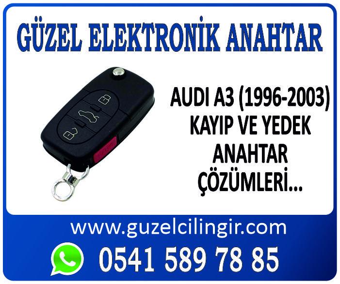 Alanya Audi A3 Yedek Anahtar