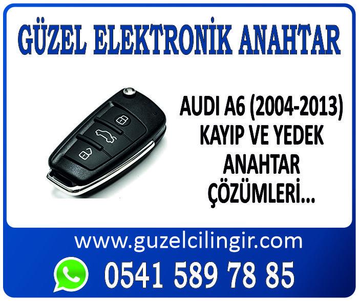 Alanya Audi A6 Yedek Anahtar