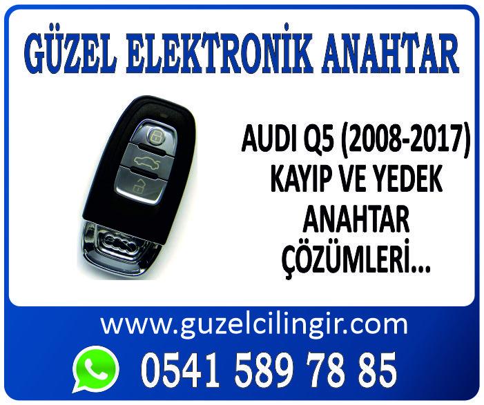 Alanya Audi Q5 Yedek Anahtar