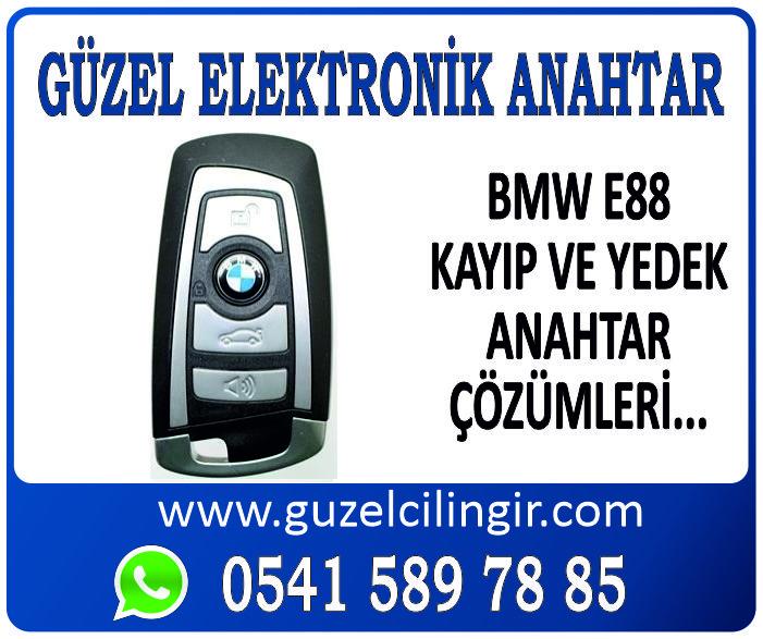 Alanya BMW E88 Yedek Anahtar