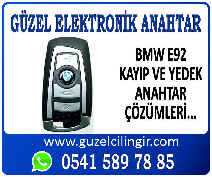 Alanya BMW E92 Yedek Anahtar