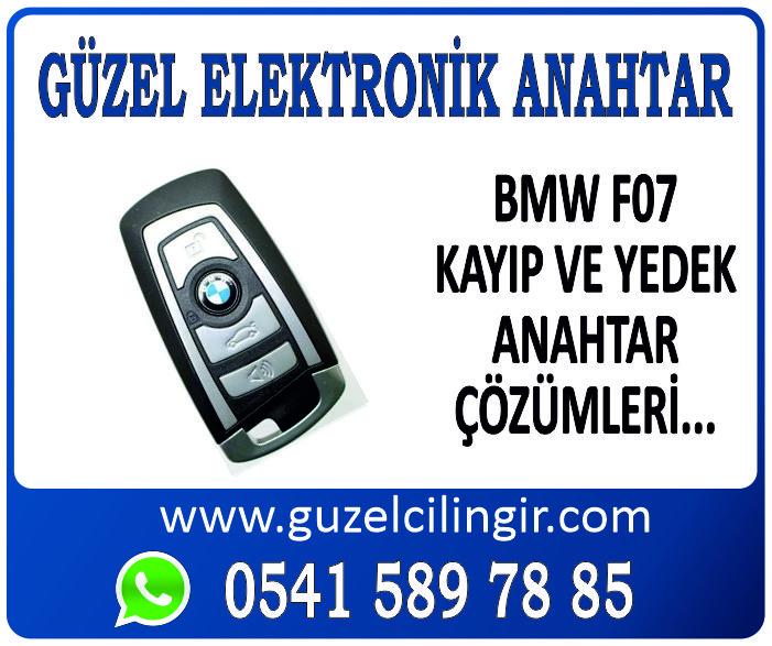 Alanya BMW F07 Yedek Anahtar