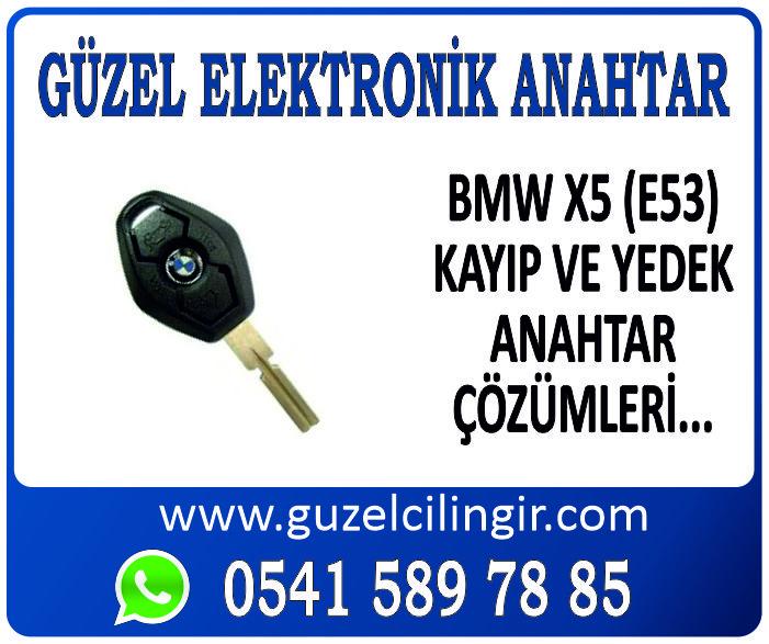 Alanya BMW X5 E53 Yedek Anahtar