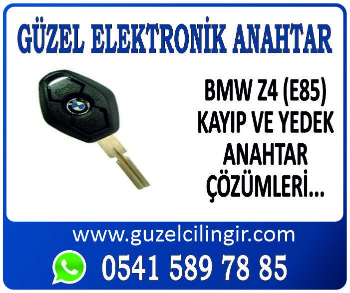 Alanya BMW Z4 E85 Yedek Anahtar