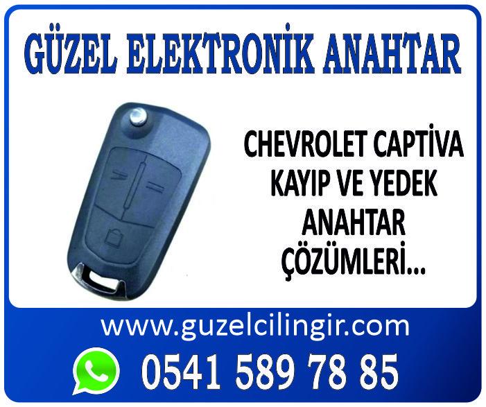 Alanya Chevrolet Captiva Yedek Anahtar