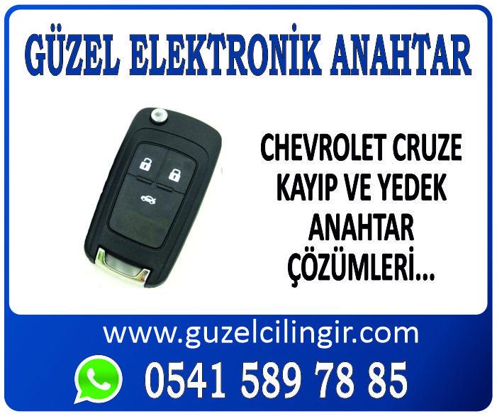 Alanya Chevrolet Cruze Yedek Anahtar