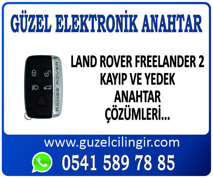 Alanya Land Rover Freelander 2 Yedek Anahtar
