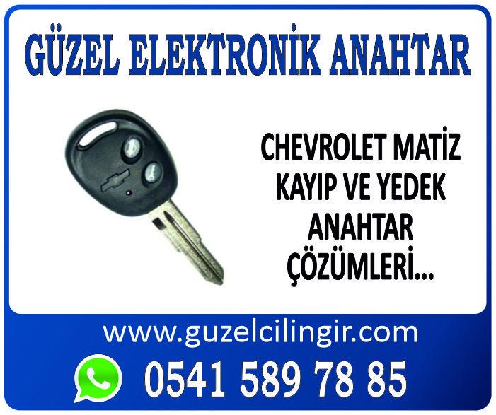 Alanya Chevrolet Matiz Yedek Anahtar