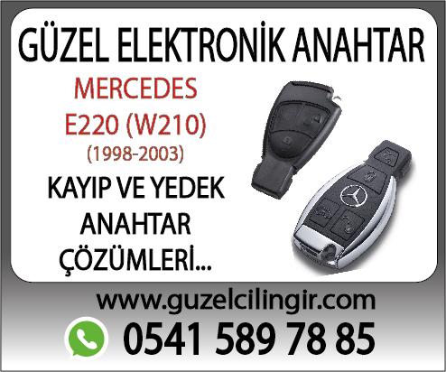 Alanya Mercedes W210 E220 Yedek Anahtar