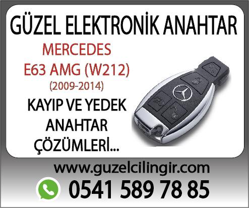Alanya Mercedes W212 E63 Yedek Anahtar