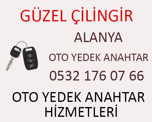 Alanya Mercedes W204 C300 Yedek Anahtar