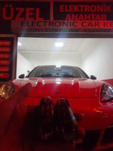Porsche Kayıp ve Yedek Anahtar