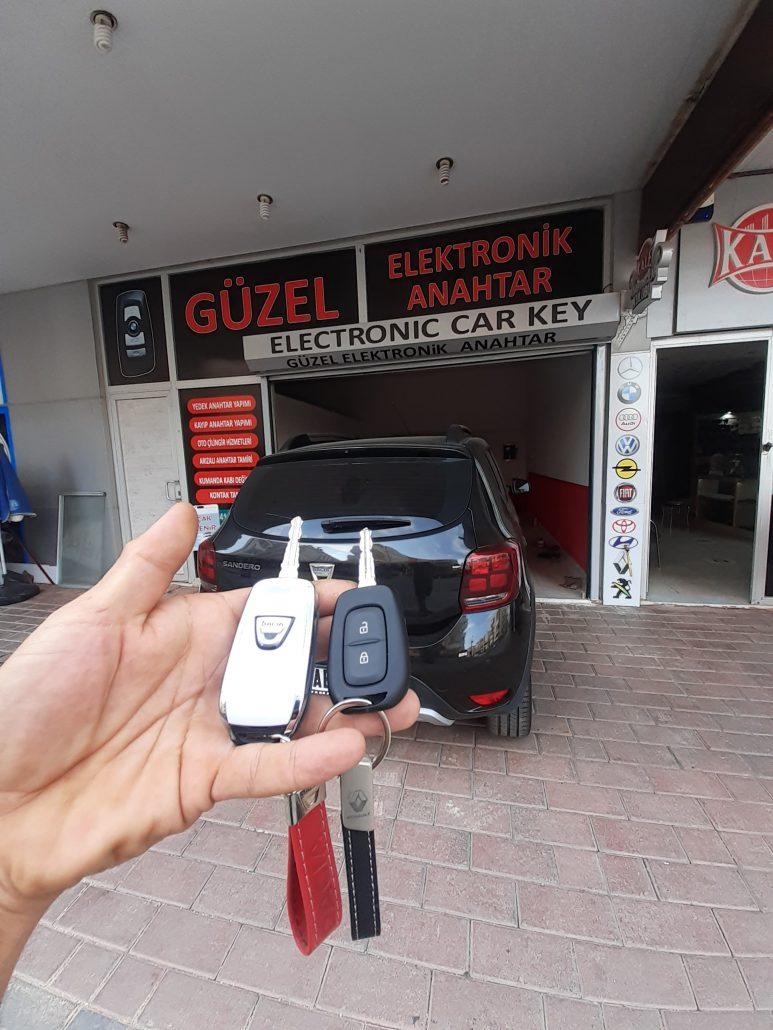 Alanya Dacia Kayıp ve Yedek Anahtar