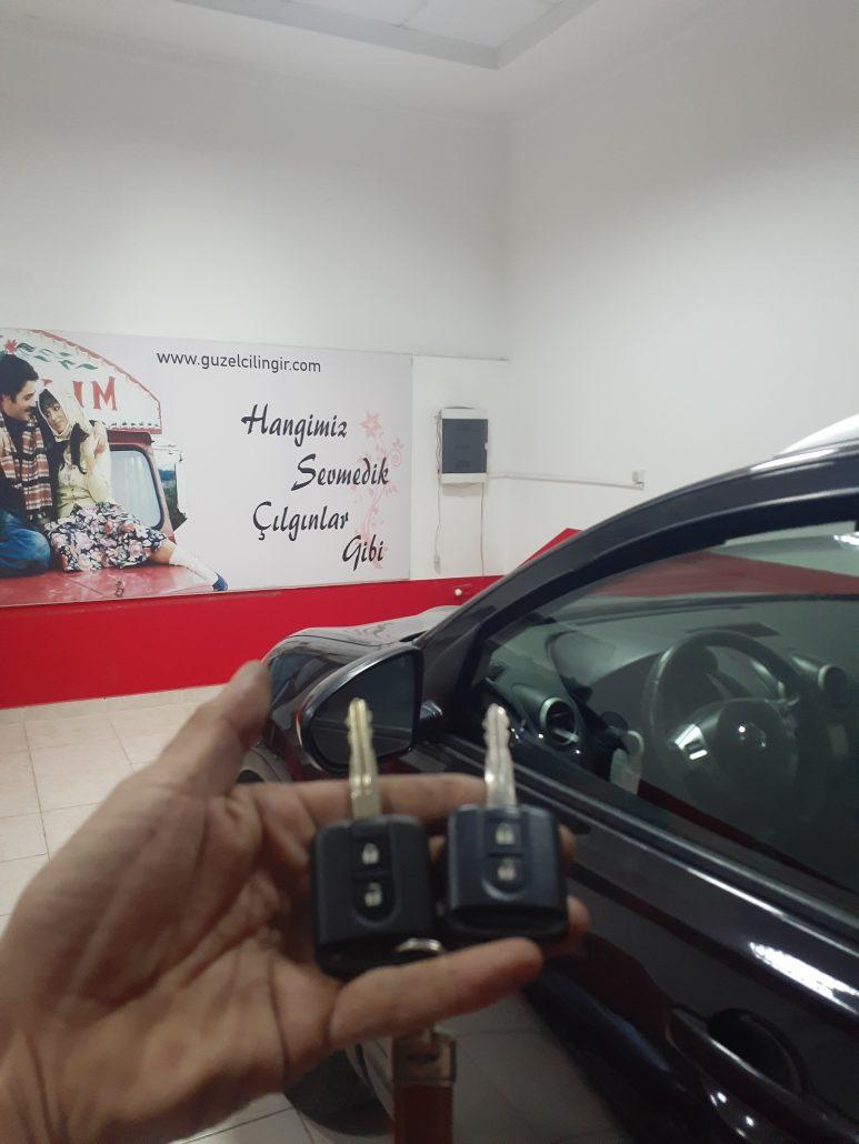 Nissan Kayıp ve Yedek Anahtar